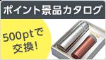 ポイント景品カタログ 500ptで交換!